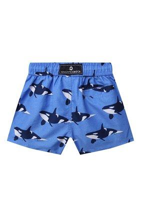 Детские плавательные шорты SNAPPER ROCK голубого цвета, арт. B90090   Фото 2