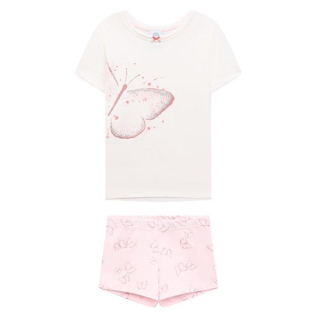 Хлопковая пижама Sanetta