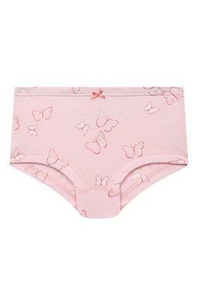 Детские трусы-слипы SANETTA светло-розового цвета, арт. 335200. | Фото 1