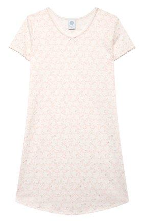 Детская сорочка SANETTA белого цвета, арт. 244950. | Фото 1