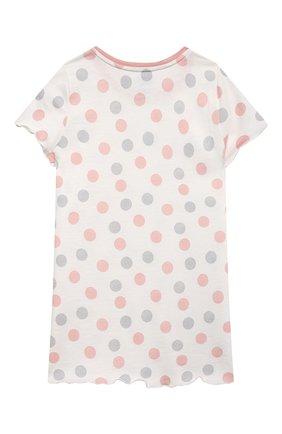 Детская хлопковая сорочка SANETTA светло-розового цвета, арт. 232569. | Фото 2