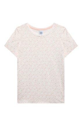 Детская пижама SANETTA светло-розового цвета, арт. 244949. | Фото 2