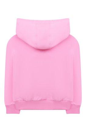 Детский комплект из худи и брюк VERSACE розового цвета, арт. 1000177/1A00154 | Фото 3