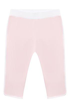Детский комплект из толстовки и брюк MONCLER светло-розового цвета, арт. G1-951-8M752-10-899AR | Фото 4