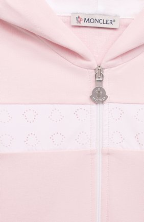 Детский комплект из толстовки и брюк MONCLER светло-розового цвета, арт. G1-951-8M752-10-899AR | Фото 6