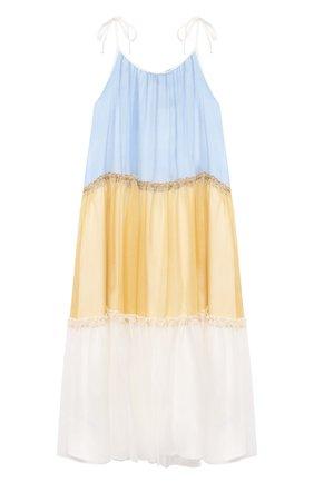 Детское шелковый сарафан PAADE MODE разноцветного цвета, арт. 21210361/4Y-8Y | Фото 2