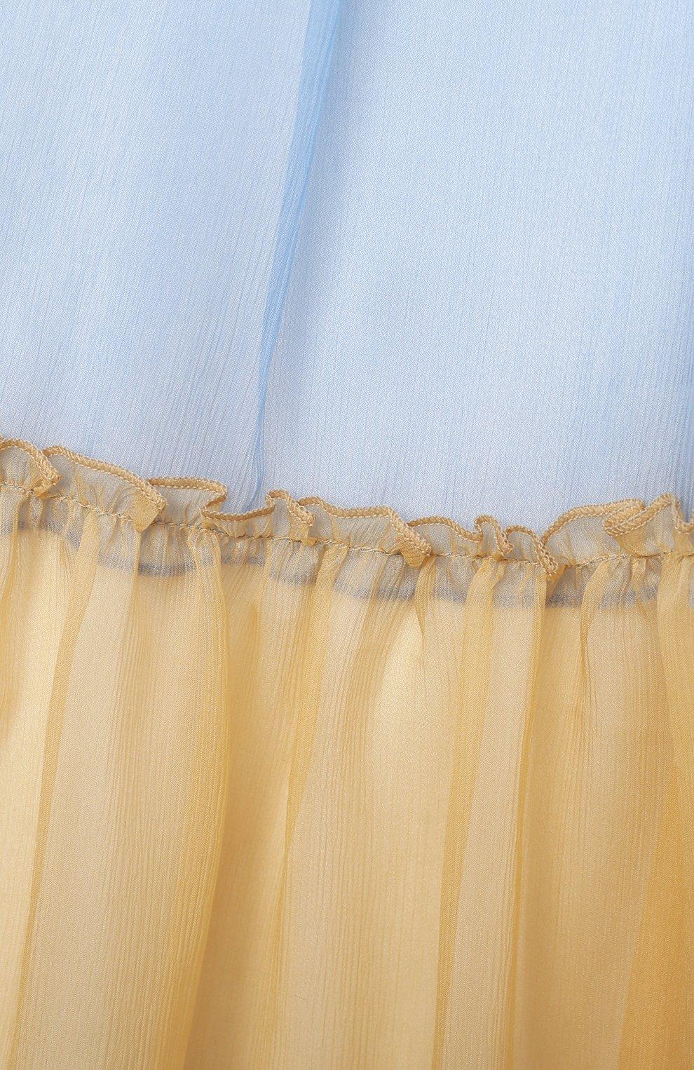 Детское шелковый сарафан PAADE MODE разноцветного цвета, арт. 21210361/4Y-8Y | Фото 3