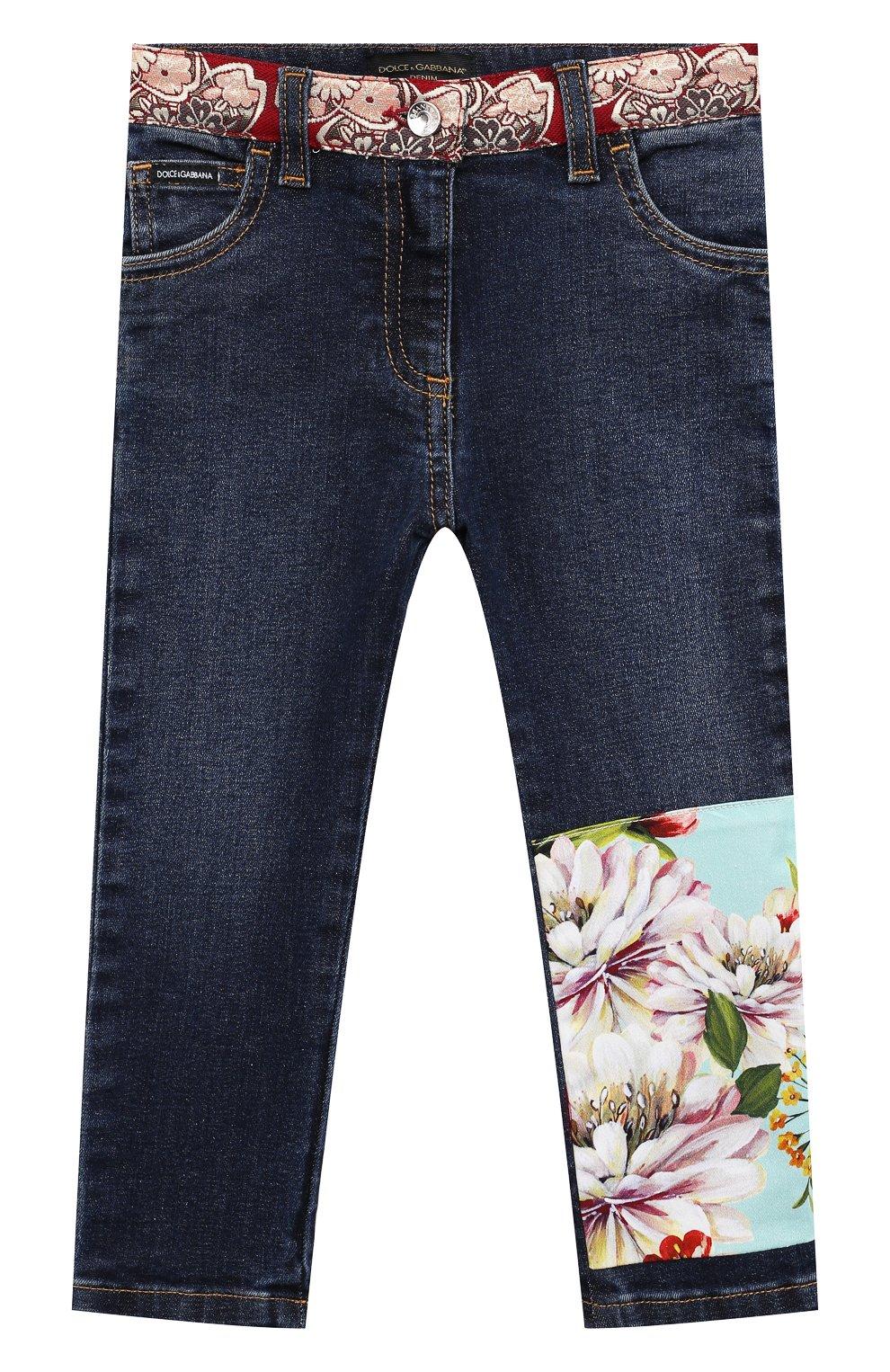 Детские джинсы DOLCE & GABBANA разноцветного цвета, арт. L22F22/G7YPT | Фото 1