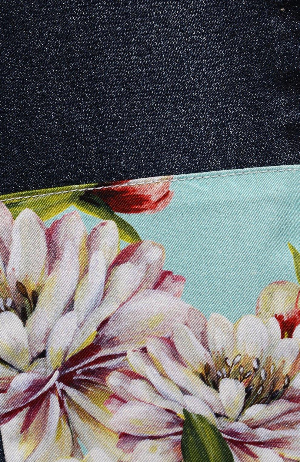 Детские джинсы DOLCE & GABBANA разноцветного цвета, арт. L22F22/G7YPT | Фото 3