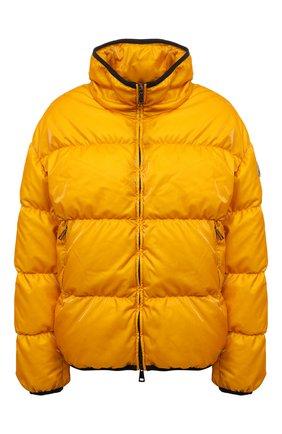 Женская пуховая куртка grenit MONCLER желтого цвета, арт. G1-093-1A52S-60-54AQ4 | Фото 1