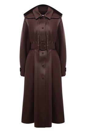 Женский плащ JIL SANDER коричневого цвета, арт. JSPS470209-WS451650A | Фото 1