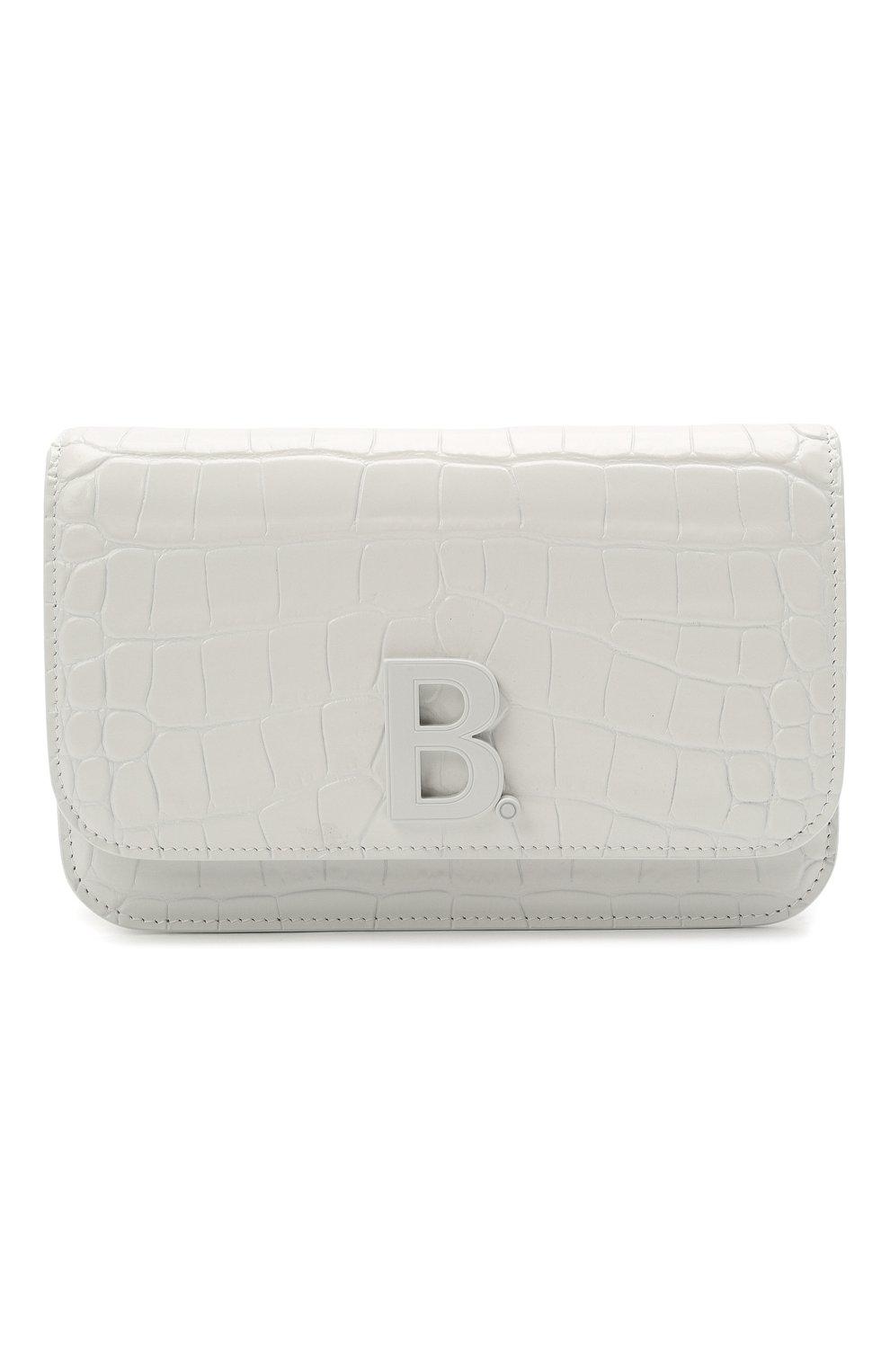 Женская сумка b. BALENCIAGA белого цвета, арт. 593615/1U6EK   Фото 1