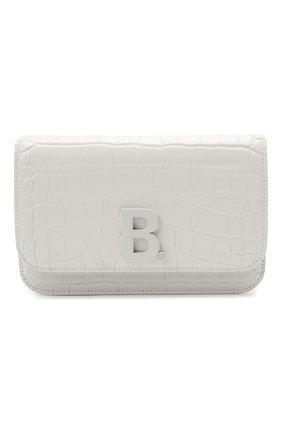 Женская сумка b. BALENCIAGA белого цвета, арт. 593615/1U6EK | Фото 1