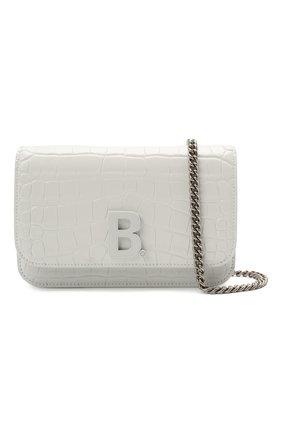 Женская сумка b. BALENCIAGA белого цвета, арт. 593615/1U6EK   Фото 5