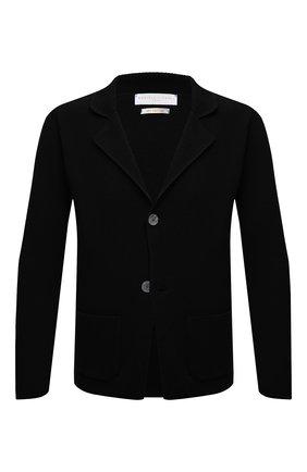 Мужской хлопковый пиджак DANIELE FIESOLI черного цвета, арт. DF 0062   Фото 1