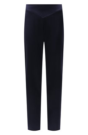 Женские шелковые брюки LISE CHARMEL синего цвета, арт. ALG0063 | Фото 1