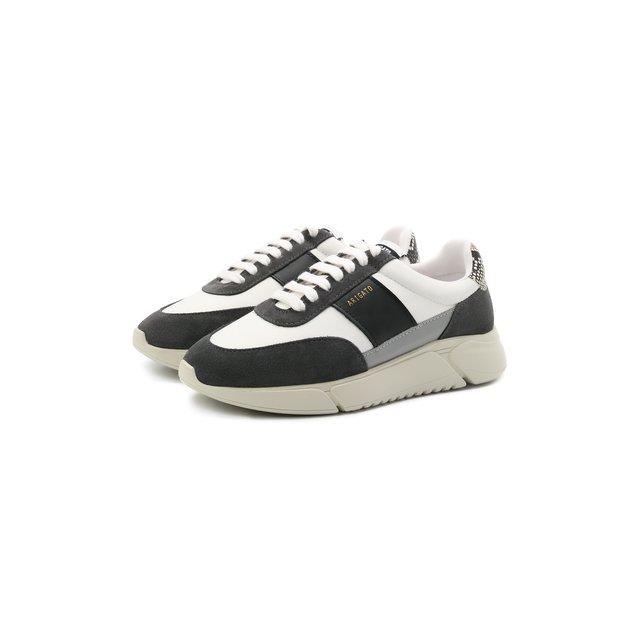 Комбинированные кроссовки Genesis Vintage Axel Arigato
