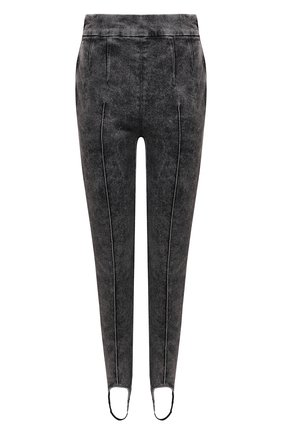 Женские джинсы со штрипками ISABEL MARANT темно-серого цвета, арт. PA1825-21P015I/NAN0ULI | Фото 1 (Кросс-КТ: Деним; Длина (брюки, джинсы): Стандартные; Стили: Гламурный; Материал внешний: Хлопок; Силуэт Ж (брюки и джинсы): Узкие)