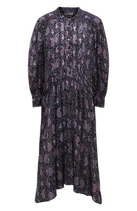 Женское хлопковое платье ISABEL MARANT ETOILE фиолетового цвета, арт. R01876-21P031E/ARIANA | Фото 1
