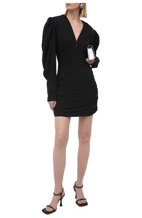 Женское платье ISABEL MARANT черного цвета, арт. R01906-21P012I/STELLA | Фото 2