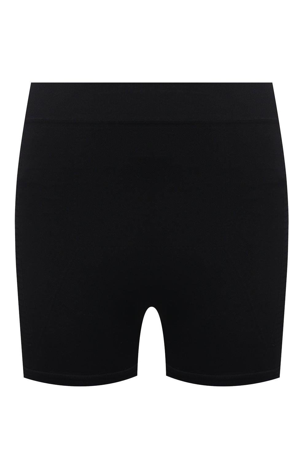 Женские шорты RICK OWENS черного цвета, арт. RP21S3651/KSP | Фото 1