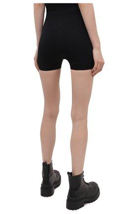 Женские шорты RICK OWENS черного цвета, арт. RP21S3651/KSP | Фото 4