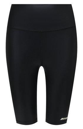 Женские шорты MSGM черного цвета, арт. 3045MDB03 217251 | Фото 1