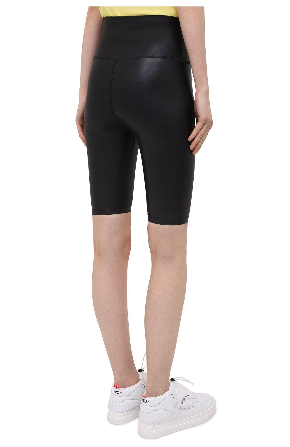 Женские шорты MSGM черного цвета, арт. 3045MDB03 217251 | Фото 4