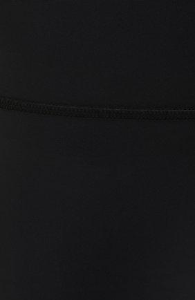 Женские шорты MSGM черного цвета, арт. 3045MDB03 217251 | Фото 5