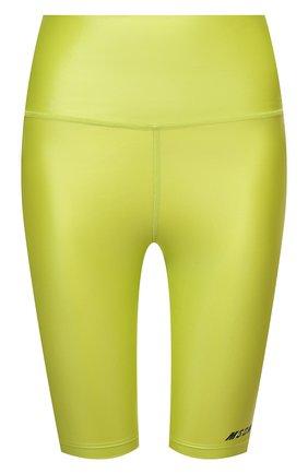 Женские шорты MSGM зеленого цвета, арт. 3045MDB03 217251   Фото 1