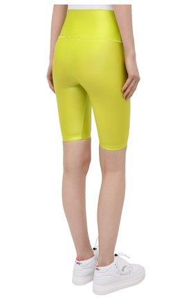 Женские шорты MSGM зеленого цвета, арт. 3045MDB03 217251   Фото 4