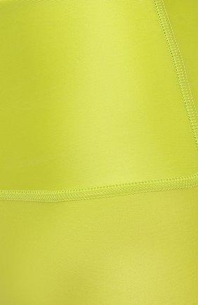 Женские шорты MSGM зеленого цвета, арт. 3045MDB03 217251   Фото 5