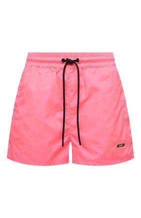 Женские шорты MSGM розового цвета, арт. 3045MDB02 217122 | Фото 1