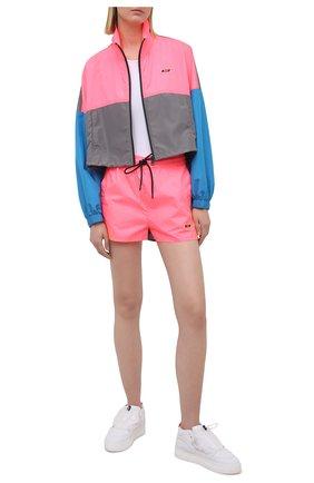 Женские шорты MSGM розового цвета, арт. 3045MDB02 217122 | Фото 2