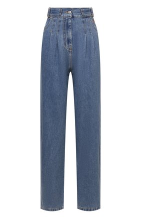 Женские джинсы MSGM синего цвета, арт. 3041MDP48L 217280 | Фото 1