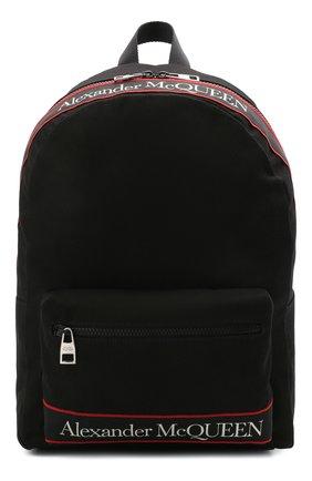 Женский рюкзак metropolitan ALEXANDER MCQUEEN черного цвета, арт. 646457/1AAAJ | Фото 1