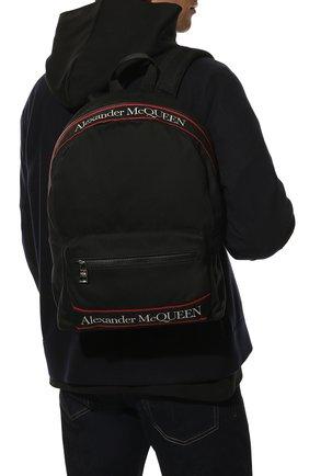 Женский рюкзак metropolitan ALEXANDER MCQUEEN черного цвета, арт. 646457/1AAAJ | Фото 2
