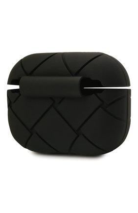 Чехол для airpods BOTTEGA VENETA черного цвета, арт. 650530/V0EY1 | Фото 2