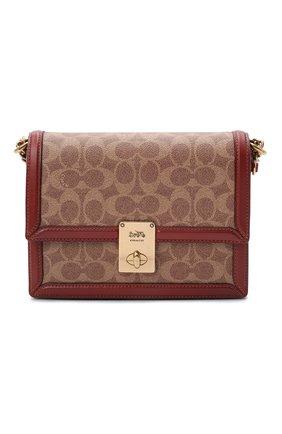 Женская сумка hutton COACH коричневого цвета, арт. 3492   Фото 1