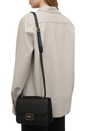 Женская сумка alie COACH черного цвета, арт. 3928   Фото 2