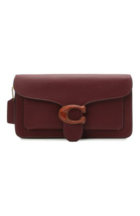 Женская сумка tabby small COACH бордового цвета, арт. 4607   Фото 1