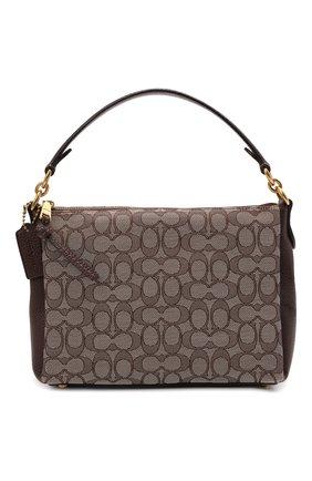 Женская сумка shay COACH темно-коричневого цвета, арт. 5215   Фото 1