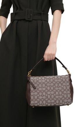 Женская сумка shay COACH темно-коричневого цвета, арт. 5215   Фото 2