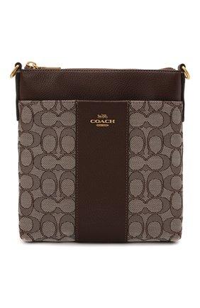Женская сумка kitt COACH темно-коричневого цвета, арт. 5475   Фото 1