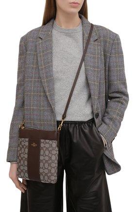 Женская сумка kitt COACH темно-коричневого цвета, арт. 5475   Фото 2
