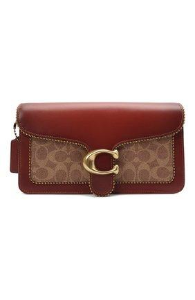 Женская сумка tabby small COACH коричневого цвета, арт. 6793   Фото 1