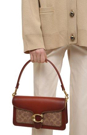 Женская сумка tabby small COACH коричневого цвета, арт. 6793   Фото 2