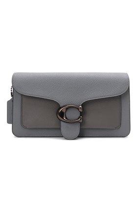 Женская сумка tabby small COACH серого цвета, арт. 76105   Фото 1