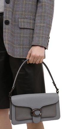 Женская сумка tabby small COACH серого цвета, арт. 76105   Фото 2