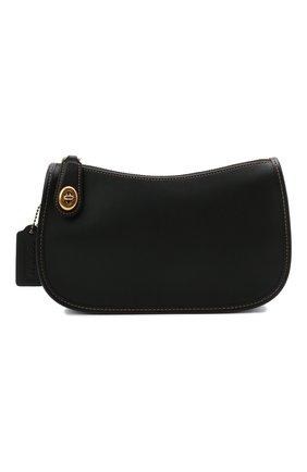 Женская сумка swinger COACH черного цвета, арт. C0638   Фото 1